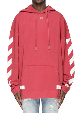 RD Diagonal Arrow Hoodie(2colors)