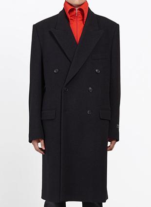 RD B. Cashmere Coat(Black/Camel)