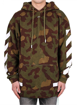 RD OW Diagonal Arrow camo hoodie