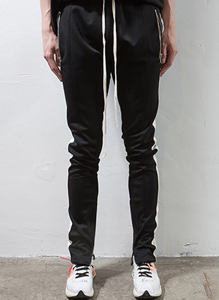 (Restock)RD F.Double Stripe Track Pants Black