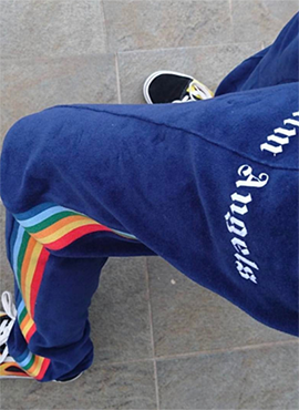(30% off) RD PA. Rainbow Track Pants