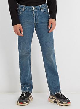RD B. Straight Leg Jeans