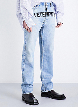 RD V. Logo Denim Pants