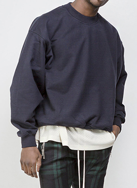 RD F. Terry Everyday Crewneck Navy