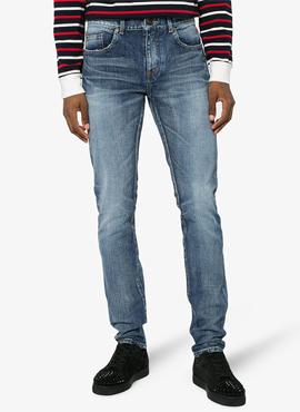 RD 18ss SLP. Light washing jeans