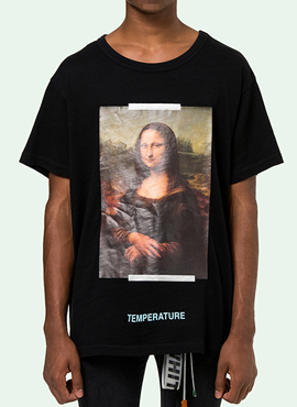 RD 18ss OW. Mona Lisa T-shirt (2colors)