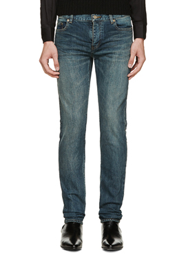 (50% off) RD 18ss SLP. Low-waisted skinny jeans