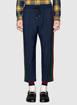 RD G. Sideband Wool Trouser Navy