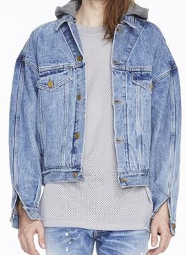 (30% off) RD F. Selvedge Denim hooded Jacket (Same Material)