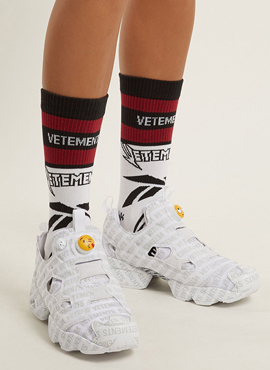 RD 18ss V X R. Cotton Blend Socks