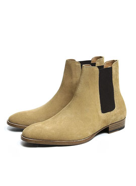 RD 18ss S.Classic Wyatt 30 Chelsea boots  tabacco  suede