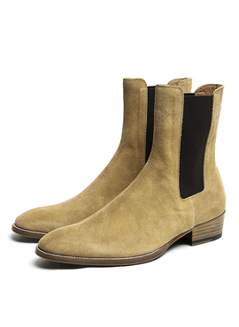RD S.Classic Chelsea boots tabacco suede