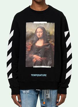 RD 18ss OW. Mona Lisa Sweatshirt