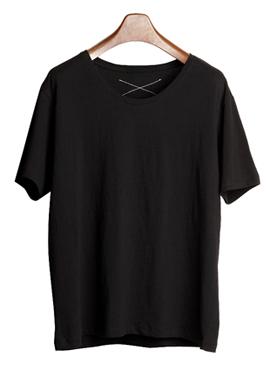 [Beside] XX T-Shirt(White/Black)