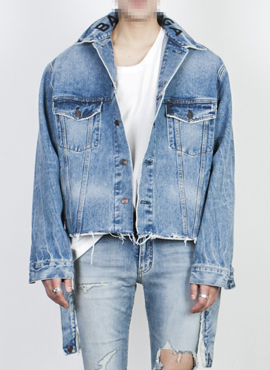 RD 18ss B. Logo Denim Jacket