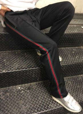 RD G. Signature Band Pants Black Upgrade ver.