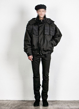 [Beside]Multipocket Lipstop Shell Parka
