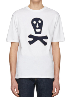 RD L. Skull Patch T-Shirt(2colors)