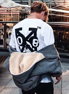 RD 18ss OW X TAKASHI  T-Shirt