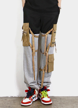 [Beside] Cargo Pants(2colors)