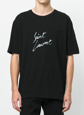RD 18ss Slp Logo T-Shirt Black