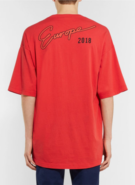 (Restock) RD B. Oversized  Pocket Europe T-shirt(2colors)