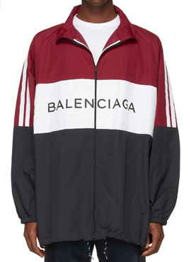 RD 18ss B.Logo Windbreaker Red
