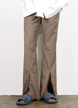 [Beside] Two Cut Slacks(2colors)