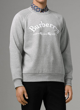 RD  BBR. Embroidered Logo Sweatshirt(2colors)
