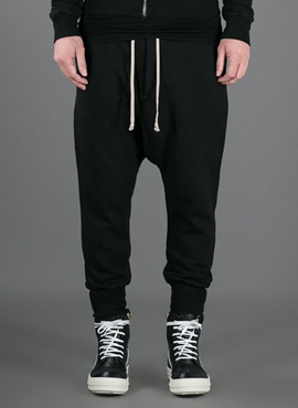 RD  R.Black Cropped Lounge Pants