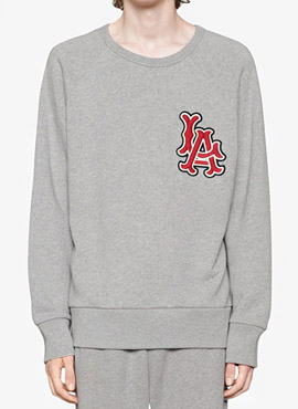 RD  18fw G. Grey LA Dodgers Sweatshirt
