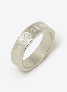 RD MM Silver Logo Ring(Glossy/Matt)