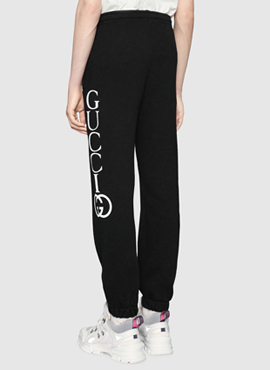 RD 18fw  G. Black Jogging Lounge Pants