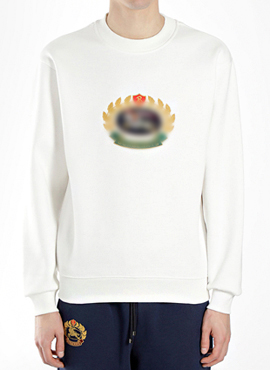RD 18fw Bur. Esker Crest Logo Sweatshirt (2colors)