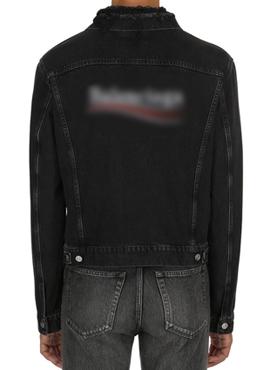 RD 18fw B. Black Denim Campaign Jacket