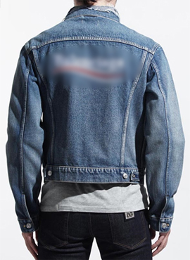RD 18fw B.Wave Logo Denim Jacket (Same material)