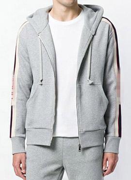 (Restock) RD 18fw G. Technical Hooded Zip-up Grey