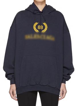 (Restock) RD 18fw B. BB Logo Hoodie Navy