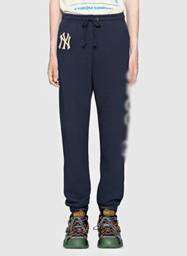 RD 18fw G. Navy NY Edition Patch Lounge Pants