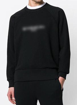 (Restock) RD GVC. Black Vintage Fit Logo Sweatshirt