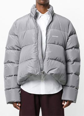 [Original Lampo Zipper] RD 17fw B.Oversized  Ripstop Down Jacket (2colors)