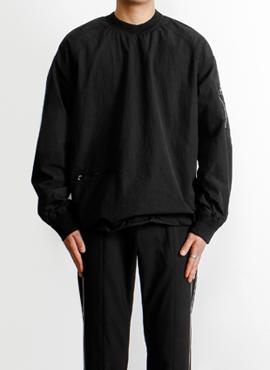 [Defond] Oversized Nylon Pullover(Lampo zipper)